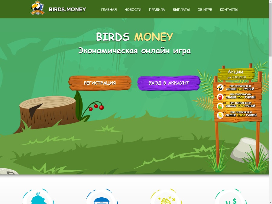 rich birds игра с выводом денег отзывы